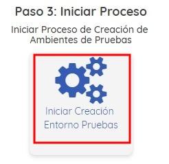 Iniciar Proceso de Pruebas Factura Electrónica