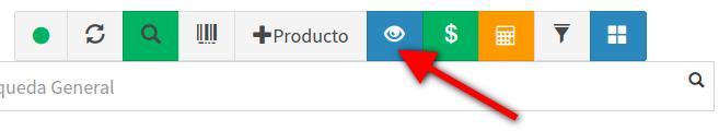 Mostrar u ocultar botones en la pantalla de venta POS