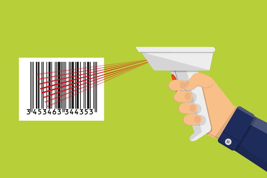 Programa para supermercado con lector de código de barras